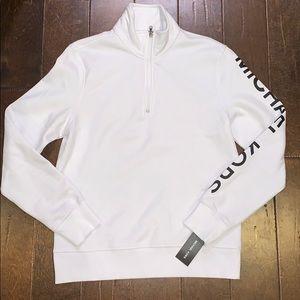 Michael Kors quarter zip sweater